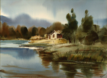 Ralph Baker Cabin by the Lake Midsized Thumbnail