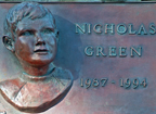 Nicholas Green Plaque Thumbnail