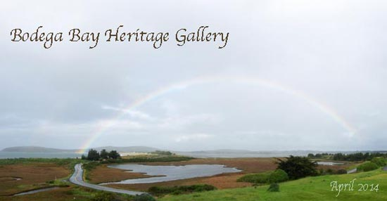 Bodega Bay 16th Tee with Rainbow 550