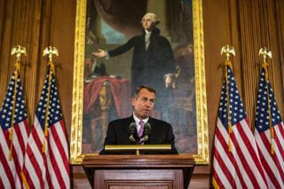 Boehner and Washington
