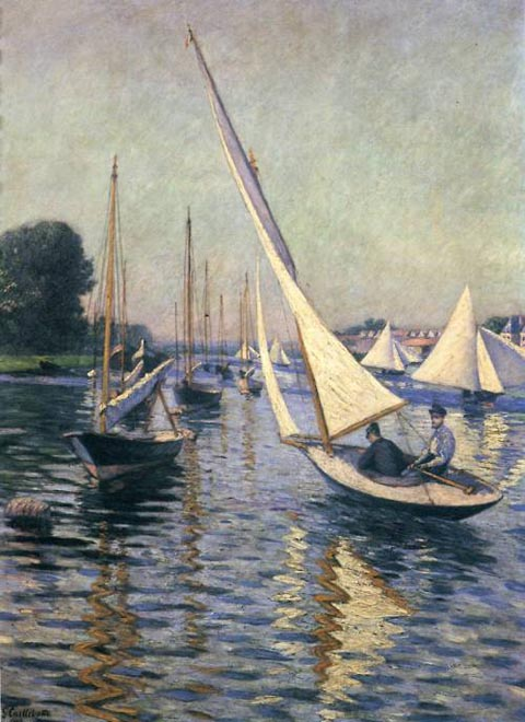 Caillebotte_Gustave_ Regatta at Argenteuil 1893