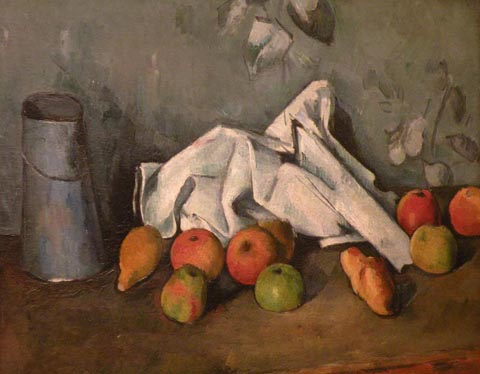 Paul Gauguin Milk Can with Apples