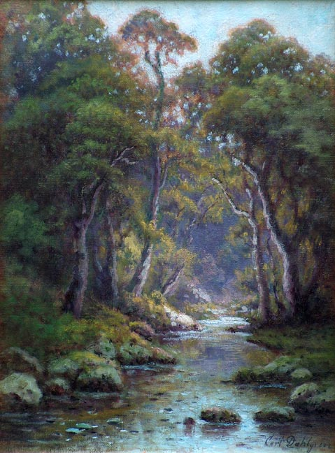Carl Dahlgren Forest Stream