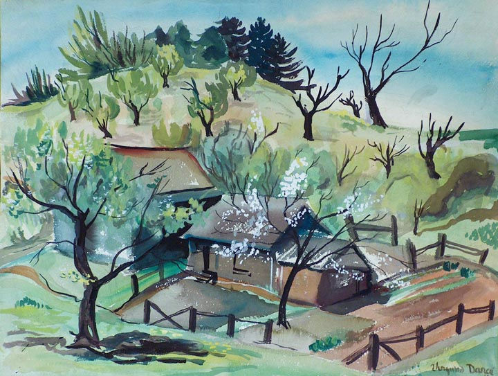 Virginia Chism Darce Spring Landscape 1944