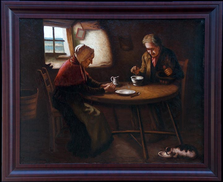 eRibcowsky_Richard_Dey_Supper_Time with frame