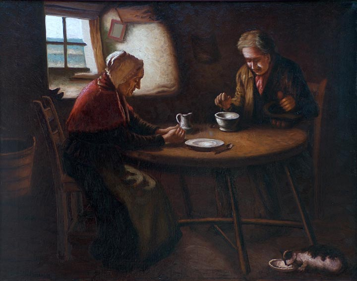 Richard Dey De Ribcowsky Supper Time