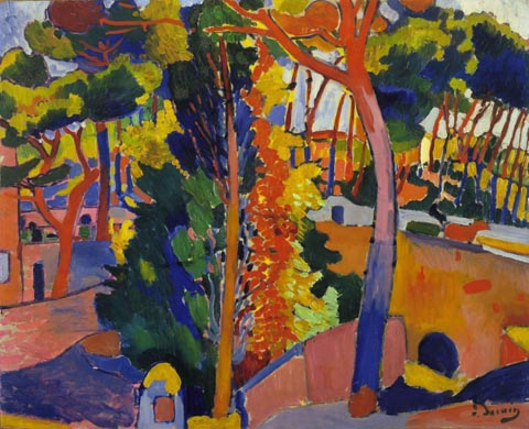 Andre Derain Bridge over the Riou