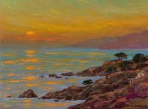 Alex Dzigurski II Sonoma Coast Sunset Midsized Thumbnail