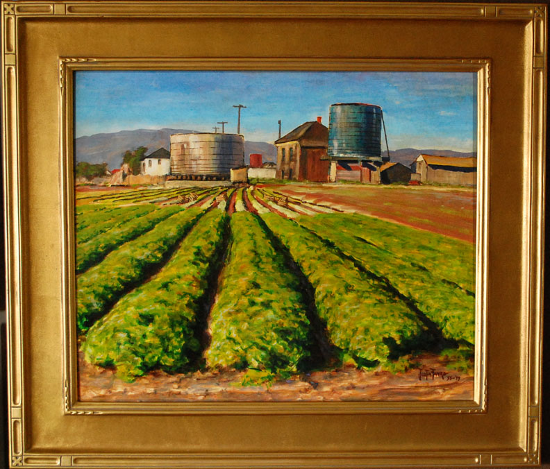 Justin Faivre Old Bay Farm Island with frame