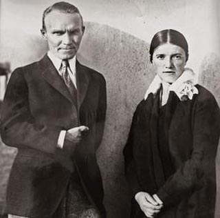 Nicolai and Alexandra Fechin in Taos, 1928