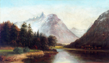 Henrietta Riddle Fish Yosemite Valley Chapel Midsized Thumbnail