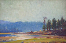 Victor Clyde Forsythe River Reflection Midsized Thumbnail
