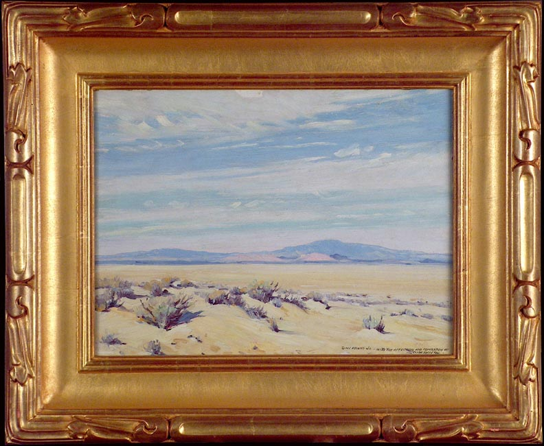 Clyde Forsythe Warmth of the Desert with Frame