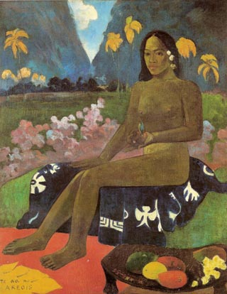 Paul Gauguin Seed of the Areoi
