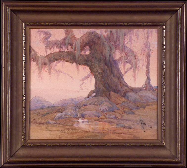 Grace Allison Griffith Mossy Oak and Spring with Frame