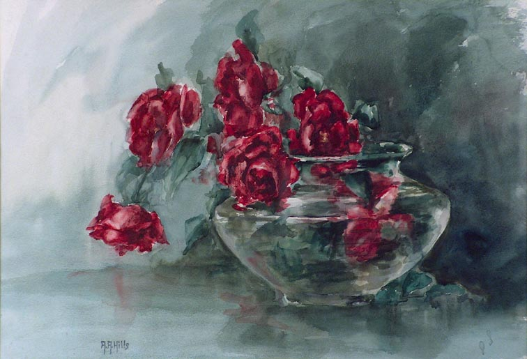 Anna Althea Hills Red Roses