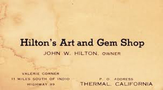 Hilton's Business Card