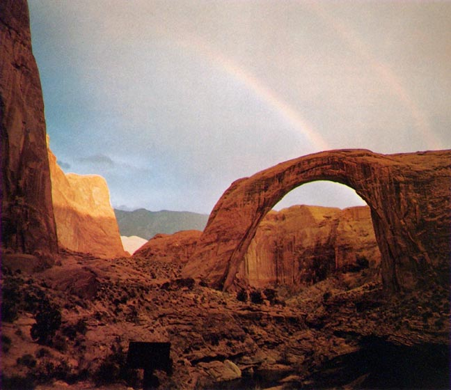 John W Hilton Photo of Rainbow Bridge July 1975