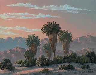 Kathi Hilton Dawn in the Palms