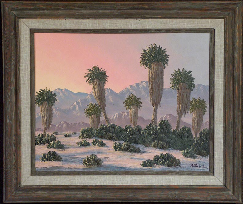 Kathi Hilton Enchanted Oasis with Frame