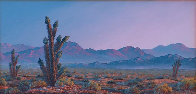 Kathi Hilton Enternal Silence California Desert