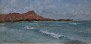 Grace Hudson Diamond Head and Waves