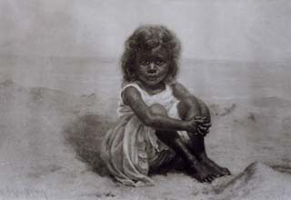Girl in the Sand Grace Hudson