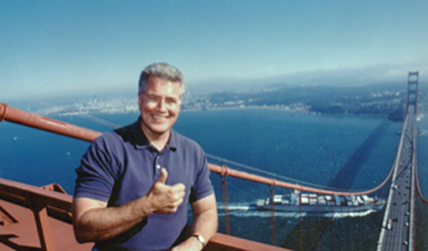 Huell Howser, California's Gold Golden Gate Bridge atop North Tower