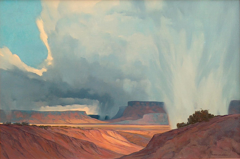 Robert Leroy Knudson The Storm
