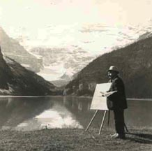 Andreas Roth at Lake Louise Alberta