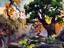 Robert Landry Falling Leaves Midsized Thumbnail