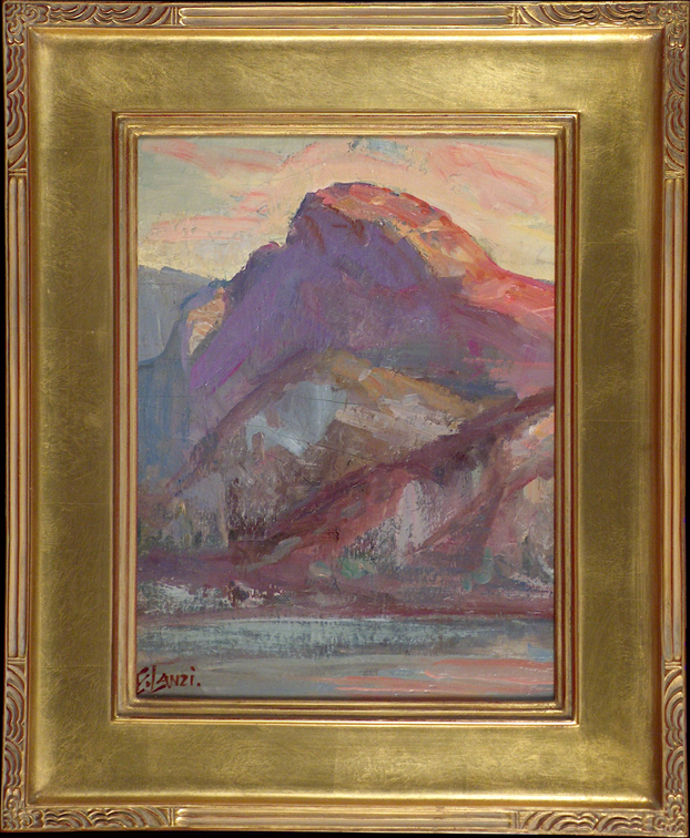Emilio Lanzi Half Dome Yosemite with Frame