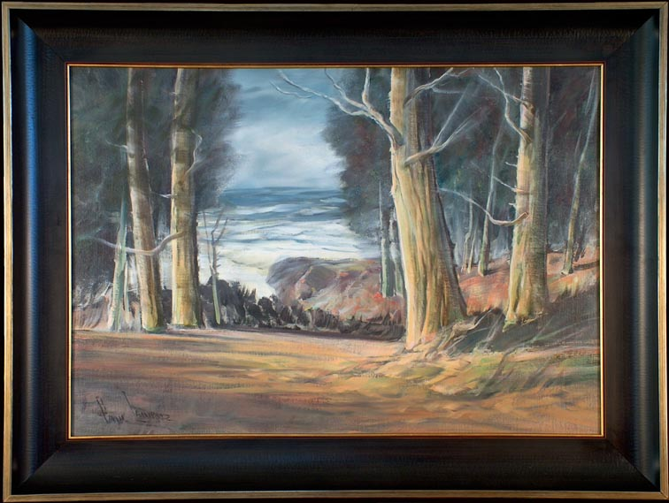 Paul Lauritz 17 Mile Drive with Frame