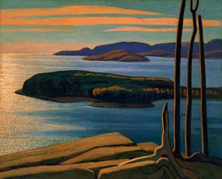 Afternoon Sun Lake Superior Lawren Harris