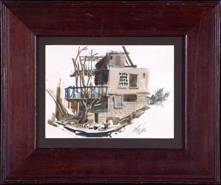 Jake Lee Shack with Frame