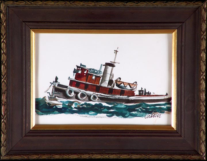 Jake Lee Tugboat with Frame