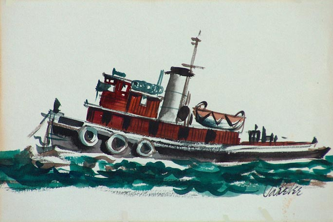 Jake Lee Tugboat