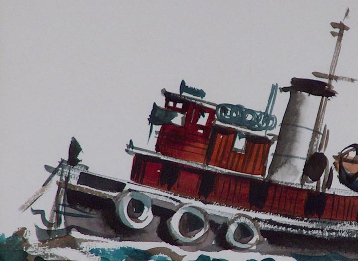 Jake Lee Tugboat Closeup