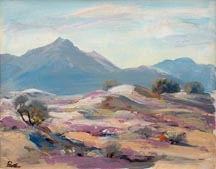 Ralph Love Untitled Desert landscape