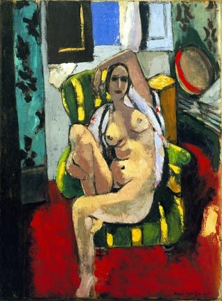 Henri Matisse, Odalisque with a Tambourine 1925-26