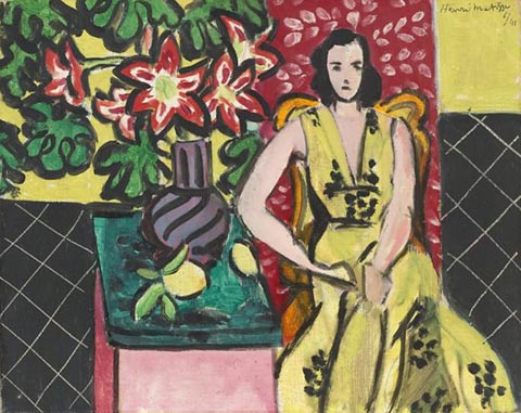 Henri Matisse Woman Seated with a Vase 1941