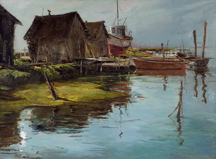 Joshua Meador Boat Anchorage