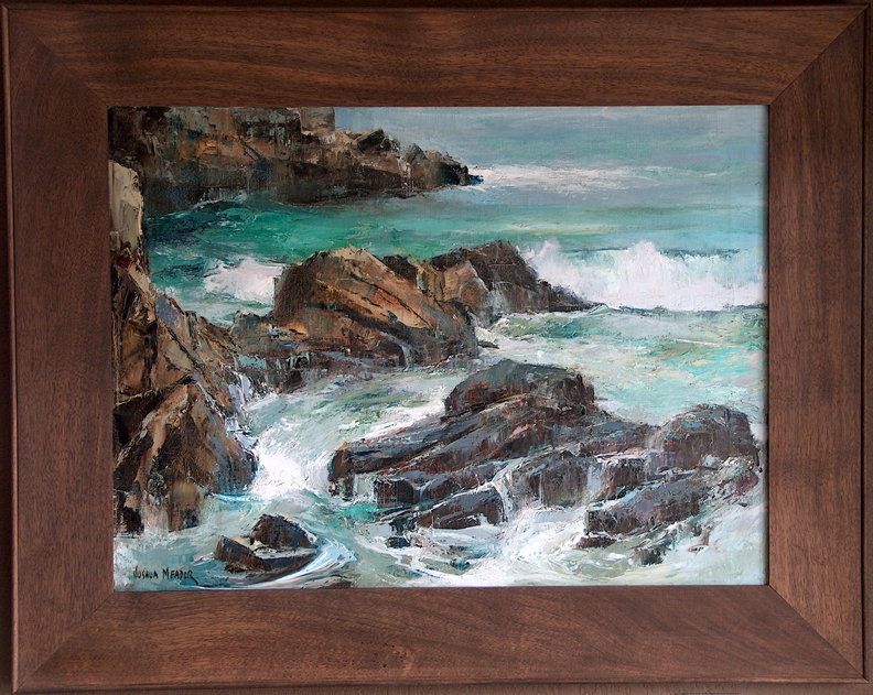 Joshua Meador Carmel Coast with frame