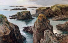 Joshua Meador Beach at Caspar Point