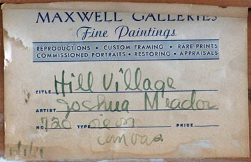 Meador_Joshua_Hill_Village_Verso_Label.jpg