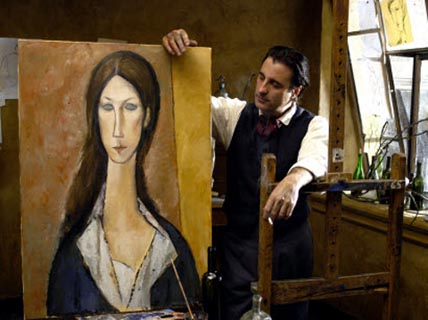 Andy Garcia as Modigliani 2004