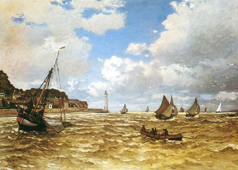 Claude Monet Mouth of the Seine