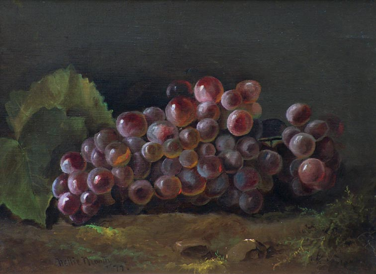 Nellie Moody Grapes 1877