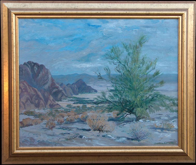 Charlotte Augusta Morgan Palo Verde Tree with Frame