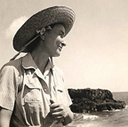 Georgia O'Keeffe in Hawaii 1939